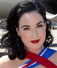 Dita Von Teese Hairstyle - click to view hairstyle information