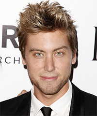 Lance Bass Hairstyle - click to view hairstyle information