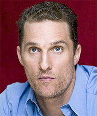 Matthew McConaughey Hairstyle - click to view hairstyle information