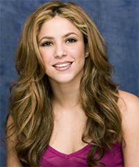 Shakira Hairstyle - click to view hairstyle information