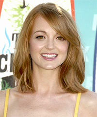 Jayma Mays Medium Straight Casual