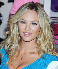 Candice Swanepoel Hairstyle - click to view hairstyle information