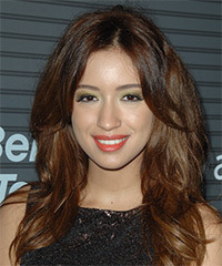Christian Serratos Hairstyle - click to view hairstyle information
