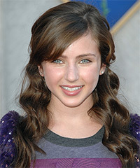 Ryan Newman - Half Up Long Curly