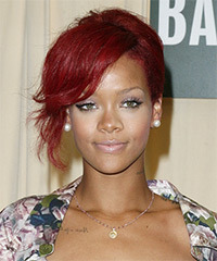 Rihanna  - Updo Long Curly