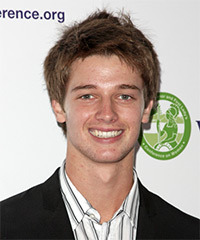 Patrick Schwarzenegger Hairstyle - click to view hairstyle information