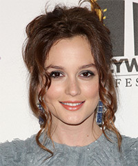 Leighton Meester - Updo Long Curly