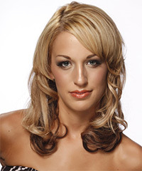 Medium Wavy Formal Hairstyle - click to view hairstyle information