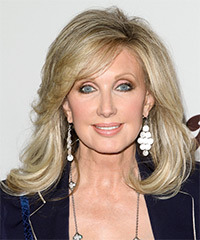 Morgan Fairchild Hairstyle - click to view hairstyle information