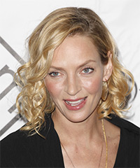 Uma Thurman - Curly