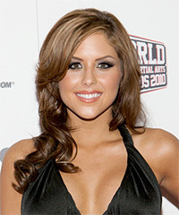 Brittney Palmer  Hairstyle - click to view hairstyle information