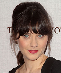 Zooey Deschanel - Updo Long
