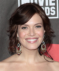 Mandy Moore - Curly Wedding