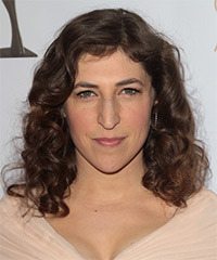 Mayim Bialik Hairstyle - click to view hairstyle information