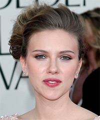 Scarlett Johansson - Updo Long Wedding