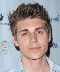 Nolan Gerard Funk Hairstyle - click to view hairstyle information