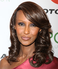 Iman Hairstyle
