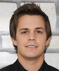 Johnny Simmons - Short Straight