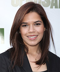 America Ferrera Hairstyle - click to view hairstyle information