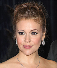 Alyssa Milano - Updo Long