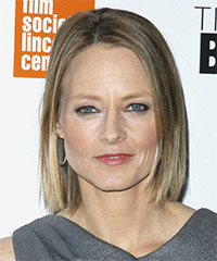 Jodie Foster - Medium Bob