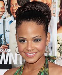 Christina Milian - Updo Long Curly