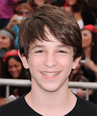 Zachary Gordon  Hairstyle