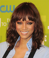 Tyra Banks Hairstyle - click to view hairstyle information