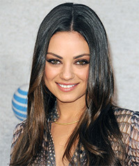 Mila Kunis - Long Straight