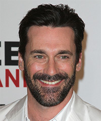 Jon Hamm Hairstyle - click to view hairstyle information