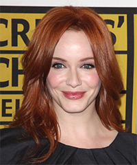 Christina Hendricks - Long Straight