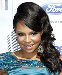 Ashanti - Updo Long Wedding