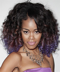 Teyana Taylor Medium Curly Formal