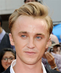 Tom Felton Hairstyle