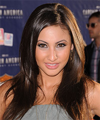 Francia Raisa Hairstyle - click to view hairstyle information