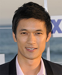 Harry Shum Jr.  Hairstyle - click to view hairstyle information