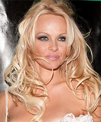 Pamela Anderson - Half Up Long Curly