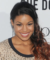 Jordin Sparks - Half Up Long Curly