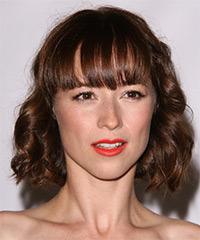 Karine Vanasse  Hairstyle