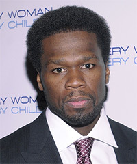 "Curtis ""50 Cent"" Jackson Hairstyle"