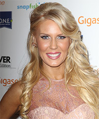 Gretchen Rossi - Half Up Long Curly