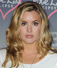 Caggie Dunlop Hairstyle - click to view hairstyle information