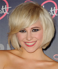Pixie Lott Hairstyle - click to view hairstyle information