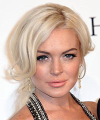 Lindsay Lohan - Updo Long Straight