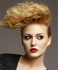 Short Wavy Alternative Hairstyle - click to view hairstyle information