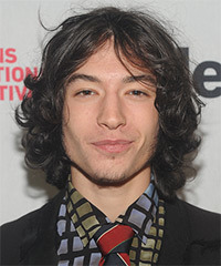 Ezra Miller Hairstyle