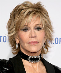 Jane Fonda - Short Straight Formal