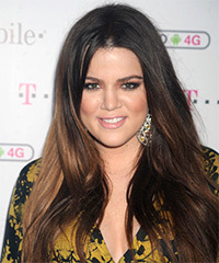 Khloe Kardashian Hairstyle - click to view hairstyle information