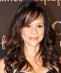 Rosie Perez Hairstyle - click to view hairstyle information
