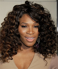 Serena Williams - Long Curly
